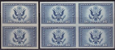 Scott 771 - US 16c Special Delivery Block of Four Plus a Pair MNH NGAI