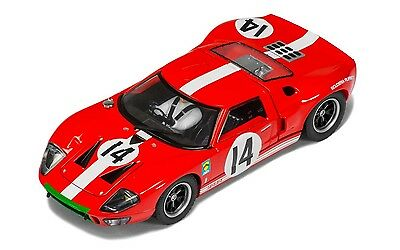 Ford GT40 Le Mans 1:32 Scale Scalextric Slot Car - C3630 Brand New Boxed
