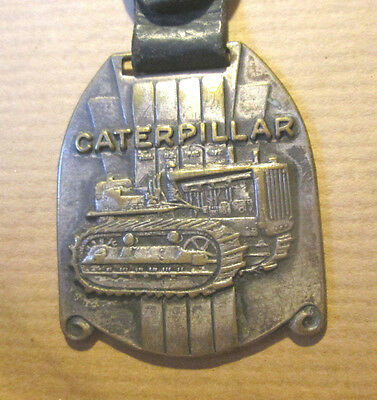 Vintage 1930's Buffalo Rochester Syracuse NY Caterpillar Belt Tractor Watch Fob
