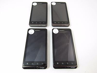 Lot of 4 Motorola Bionic (XT875) (Verizon) (Check ESN)_B12