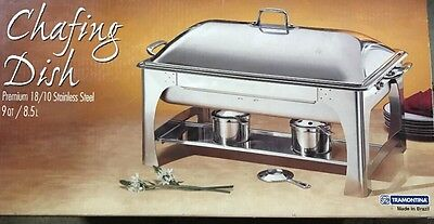 Chafing Dish 9 QT Stainless Steel Chafing Dish Catering