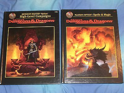 Advanced Dungeons & Dragons 2.5E High Level Campaigns Plus Spells And Magic D&d