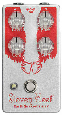 EarthQuaker Devices Cloven Hoof Fuzz Guitar Effects Pedal, NEW!! #30727