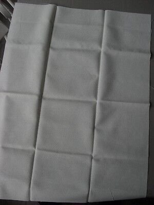 "Cross stitch fabric. 30ct approx. 26"" x 20"". Cream linen"