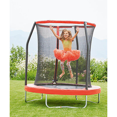 New ELC Boys and Girls 6ft Trampoline and Enclosure Toy From 3 years