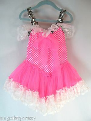 Girls Size M 7 8 Tutu Dress Ballet Dance Princess Ballerina Halloween Costume