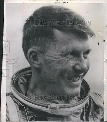 1962 Press Photo Astronaut Walter Schirra - RSC39469