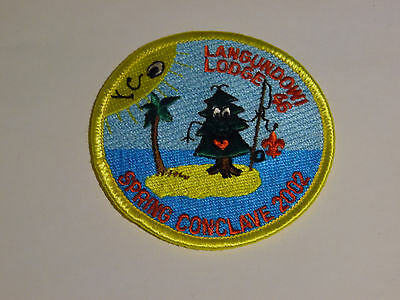 Boy ScoutsLangundowi lodge 46 spring couclave 2002 patch