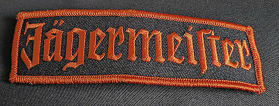 Jagermeister Patch Embroidered