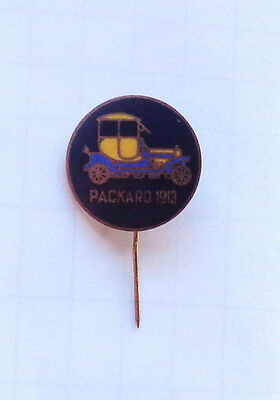 Vintage Antique AUTHENTIC Great Britain Packard 1913 Motor Auto Automobile Pin