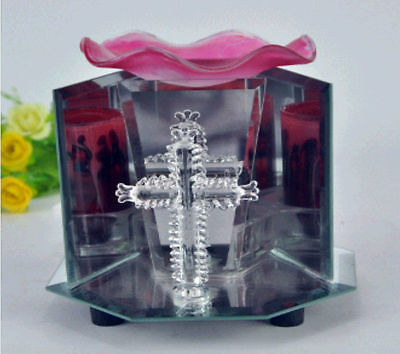 Red Cross Electric Scented Oil Warmer Lamp Wax Tart Burner Fragrance Diffuser