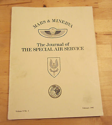 Mars & Minerva Journal of the Special Air Service Magazine SAS February 1990