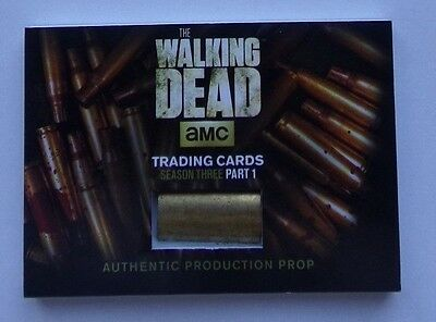The Walking Dead season 3  very rare  prop card  card
