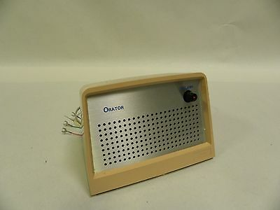 Vintage ITT Orator Phone Telephone Desktop Intercom Speaker (A8)