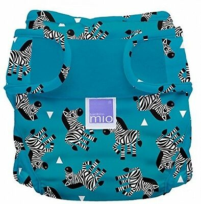 Bambino Mio Miosoft Reusable Nappy Cover (Size 2, Zebra Crossing)