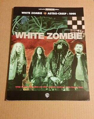 White Zombie Astro Creep 2000 Guitar Tab Tablature Song Book