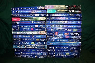 Lot of 30 Used Silhouette Special Edition Romance Books
