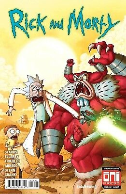 Rick And Morty #36 Hulk 181 Homage Variant! Limited To 1000! Don't Wait! Presale