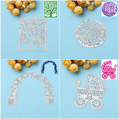Flower New Metal Cutting Dies Stencils DIY Scrapbooking Album Paper Card Craft