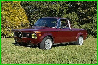 1971 Bmw 1600  1971 Bmw 1600 Custom Made Pick Up Fantastic Car!