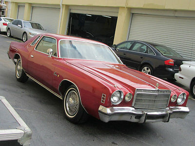 1975 Chrysler Cordoba  62000 MILES GARAGE KEPT FLORIDA NON SMOKER VERY CLEAN IN/OUT SERVICED NEW TIRES