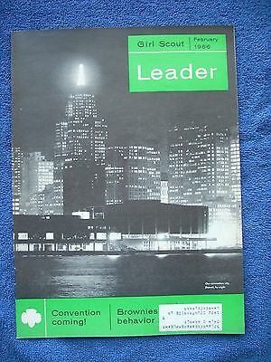Girl Scout Leader - February 1966 - Monthly Oct to June - Children