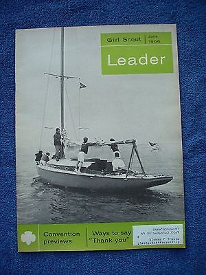 Girl Scout Leader - June 1966 - Monthly Oct to June - Children