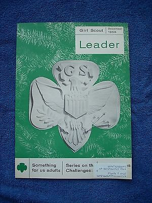 Girl Scout Leader - December 1966 - Monthly Oct to June - Children