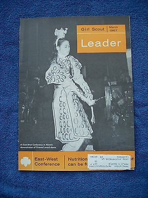 Girl Scout Leader Magazine - March 1967