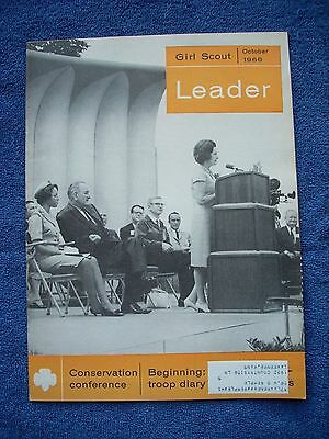 Girl Scout Leader - October 1966 - Monthly Oct to June - Children