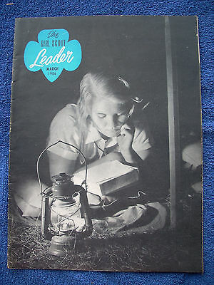 Girl Scout Leader Magazine - March 1956