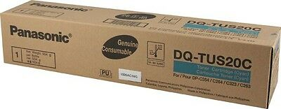 Genuine Panasonic DQ-TUS20C Cyan Toner Cartridge DP-C264 DP-C354