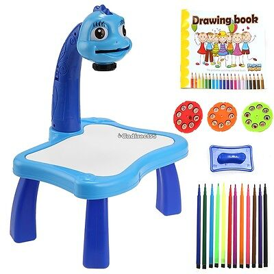 Colouring Creative Drawing Table Desk Kids Activity Toy Xmas Gift For Boy C5