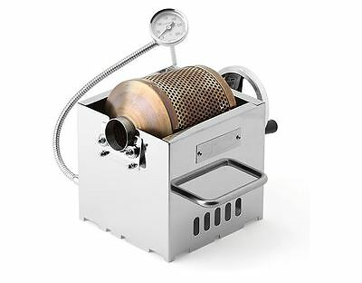 Kaldi Mini Home Coffee Bean Roaster Gas-cooktop-powered / Hand Operated type