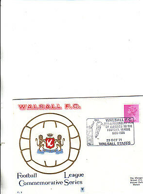 walsall first day cover 75th anniversary