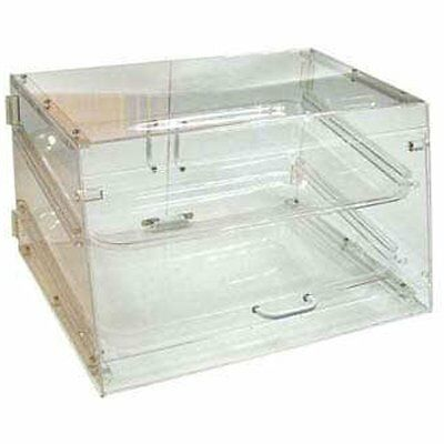 Winco Displayware ADC-2 2-Tier Pastry Display Case, Acrylic