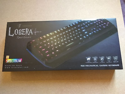 Tesoro Lobera Spectrum G5SFL AZERTY Clavier gaming switch brown  799430374569