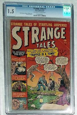 Marvel Comics FN 1.5 STRANGE TALES issue 2 CGC 1951 Golden age