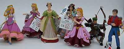 Genunine Papo Prince/ Princess/ Queen/ Robin Hood Figures 8 to choose from NEW