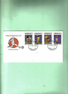 1986 world cup first day cover dominica republic
