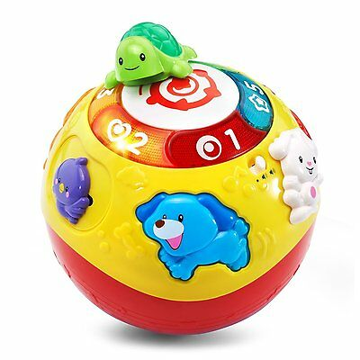 VTech Wiggle and Crawl Ball Baby Toddler educational Learning Music Toy Gift New