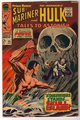 Marvel TALES TO ASTONISH 96 HULK SUB MARINER AVENGERS  VG-