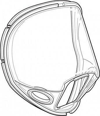 Allegro 9901 Full Face Mask Replacement Lens