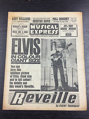 NME- New Musical Express Magazine April 26th, 1963
