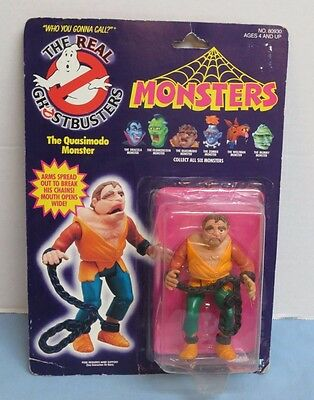 THE REAL GHOSTBUSTERS MONSTERS The Quasimodo Monster Action Figure Kenner 1986
