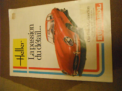 Heller French Plastic Models catalogue early 80s