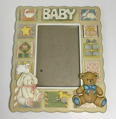 Russ Baby 4x6 Photo Frame - Unisex Nursery Gift Picture Frame Decoration