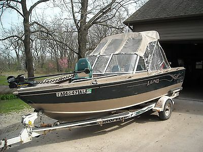 2000 Lund 1700 Adventure Sport Fishing Boat 1499500 Picclick