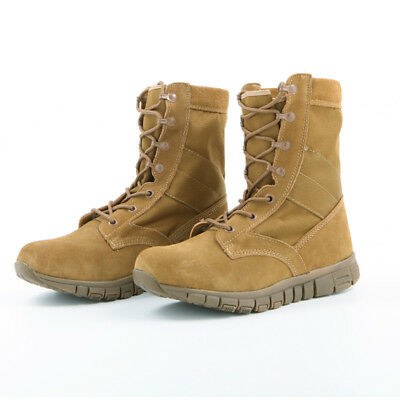 Men's Outdoor Tactical Army Battle Combat Boots Hiking Military Desert Shoes