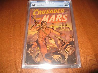 Crusader From Mars #1 1952 Cbcs  Universal 3.0   1St Appearance & Origin